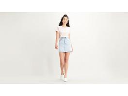 High Rise Deconstructed Skirt